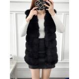 Vesta lunga de blana Snow
