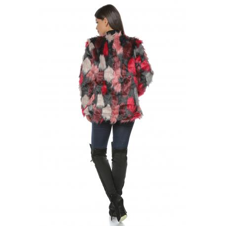 Jacheta de blana multicolora Joy