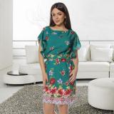 Rochie vaporoasa cu imprimeu floral