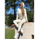 Trening din tricot Cora Cream