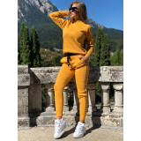 Trening tricot Fashion Mustar
