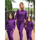 Set Trening tricot Mama-Fiica Minnie mov