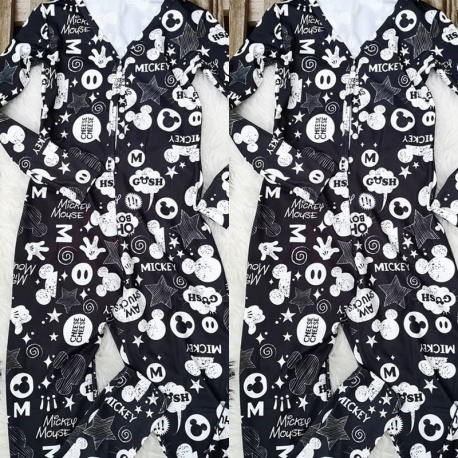 Pijama dama tip salopeta Mickey