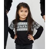 Bluza copil Winter negru