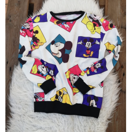 Bluza dama cu model Mickey Mouse
