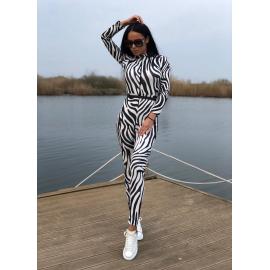 Salopeta dama model Zebra