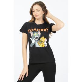 Tricou dama Tom & Jerry