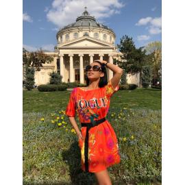 Rochie scurta colorata Vogue
