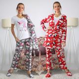 Pijamale 3 piese Unicorn