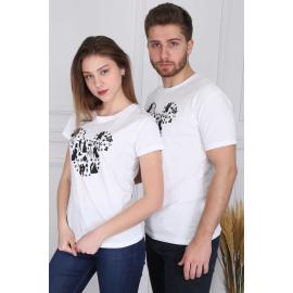 Set tricouri pentru El si Ea Mickey Mouse