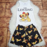 Pijama scurta Lion King