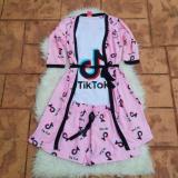 Pijamale 3 piese Tik Tok