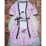 Pijamale 3 piese Snoopy