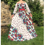 Rochie lunga model Gypsy Miruna