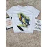 Top scurt Parrot