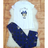 Pijama dama Minnie Dream Alb