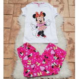 Pijama dama Minnie Dress roz