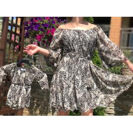 Set rochie Mama-Fiica din voal Cezara