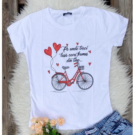 Tricou dama Bike Love
