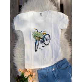 Tricou dama Bicycle