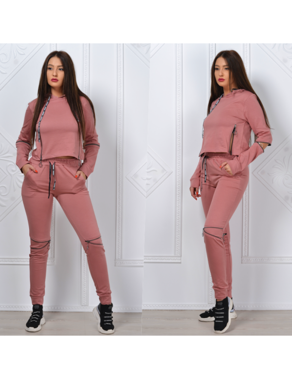Trening dama Zipper Girl roz