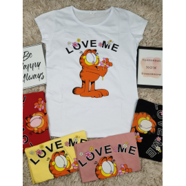 Tricou dama Love Garfield