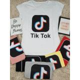 Tricou dama Tik Tok Logo