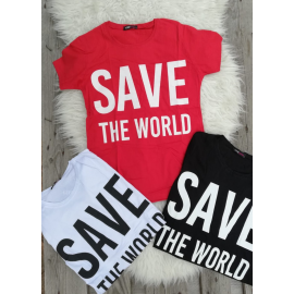 Tricou dama Save The World