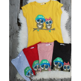 Tricou dama Bad Owl