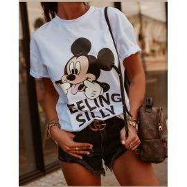 Tricou dama Silly Mickey