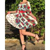 Rochie scurta model Gypsy Miruna