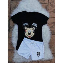Set tricou si pantaloni scurti Mickey