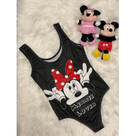 Body dama Minnie Mouse Verde