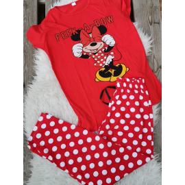 Pijama dama Peek a Bow rosu