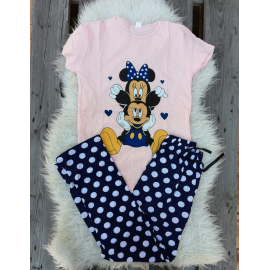 Pijama dama Mickey Club roz