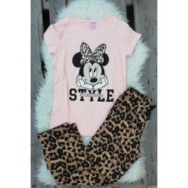 Pijama dama Minnie Style roz