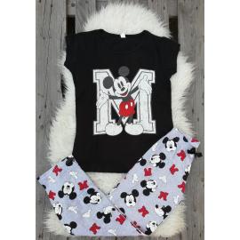 Pijama dama the sign Mickey negru