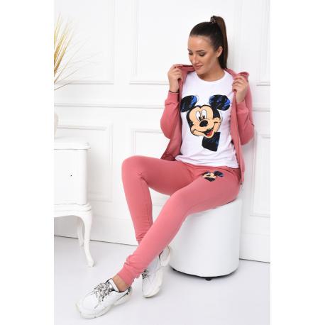 Compleu dama 3 piese Love Mickey