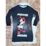 Rochie desene Minnie vs Mickey