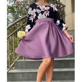 Rochie scurta cu imprimeu floral Grace