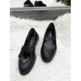 Pantofi dama din piele Elissa negru