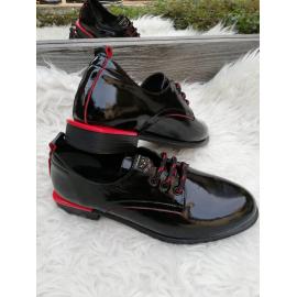 Pantofi dama din piele lacuita Rio