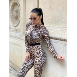 Salopeta dama Leopard