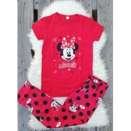 Pijama dama Minnie rosu