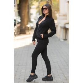 Trening din tricot Alessia Negru