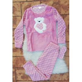 Pijama de dama model Bear Hug
