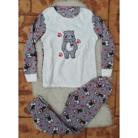 Pijama de dama model Bear's Imprint