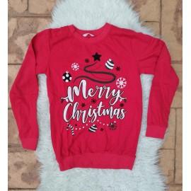 Bluza cu motive de Craciun Global Merry Christmas