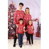 Set Bluze Family Runny rosu