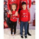 Bluza Copil Home Christmas Rosu